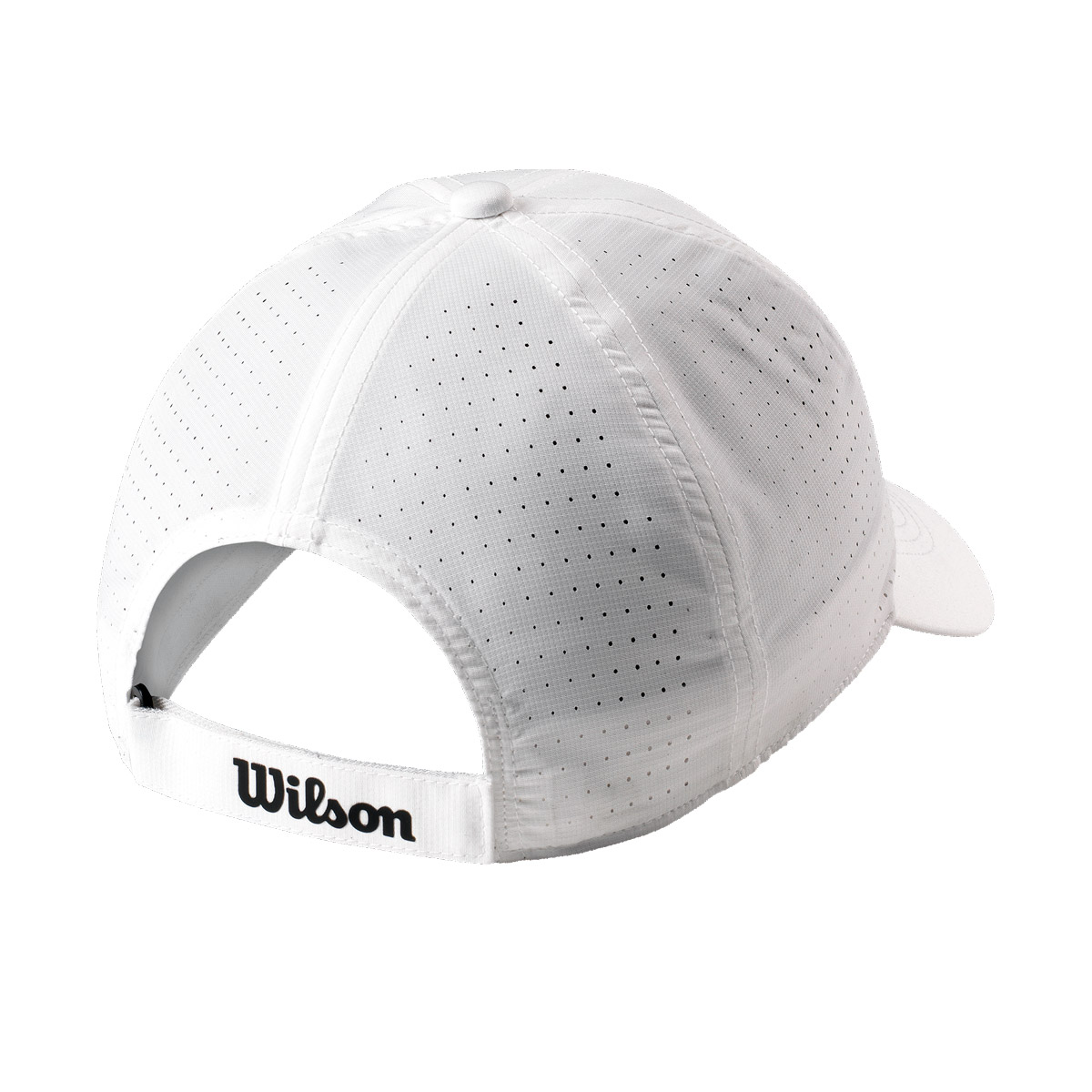 WRA777101_0_SS19_Accessories_Ultralight_Tennis_Cap_U_White_Black_Back