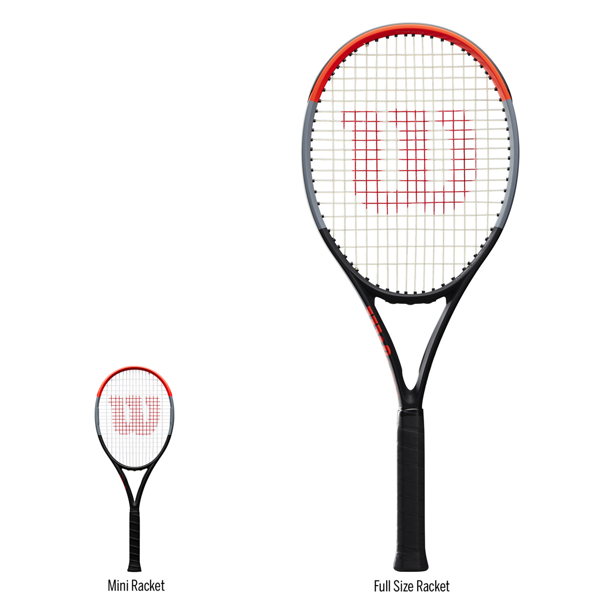 WR8401001_3_Clash_Mini_Racquet_RD_GY_BL_Front_w_Adult