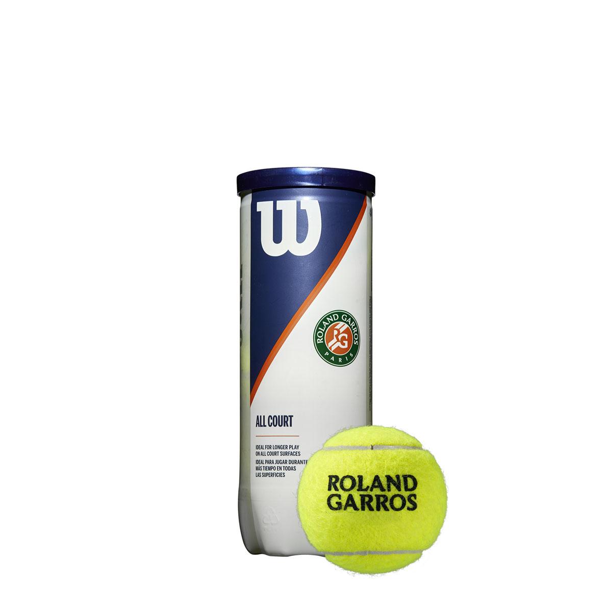 WRT126400_4_Roland_Garros_All_Court_3_Ball_Can_Clay_BU_Donut_Cap_w_Ball